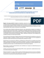 Boletin Informativo Cancillería Militares