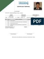 Certificado Temporal