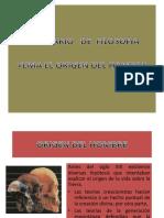 Teorias Origen Del Hombre