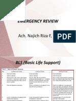 1. Emergency Review - Dr. Naj