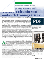 Telecomunicação Sem Ondas Eletromagnéticas