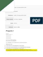 Repuestas Evaluacion Unidad 1 Fundamentos de mercadeo