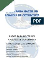ANALISIS COYUNTURA Pasos Para Hacer un Análisis de Coyuntura.pptx