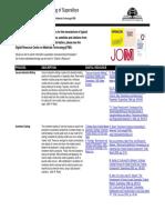 Superalloys Processing Summary