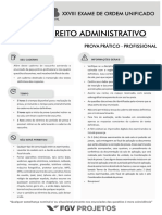 Caderno de Prova (Direito Administrativo)