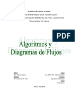 Algoritmos y Diagramas de Flujos