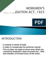 Workmen s Compensation Act 1923