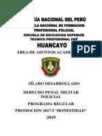 SILABUS CODIGO PENAL MILITAR POLICIAL ETS PNP 2019.docx