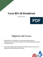 Curso 8 Disciplinas