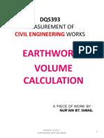 Dqs393_class F_earthwork Volume Calculation