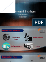 Bakrie and Brothers Ppt