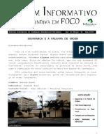 Boletim Informativo Merindiva Em Foco - Maio 2019