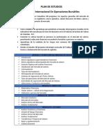 Plan de Estudios Operaciones Bursatiles 0
