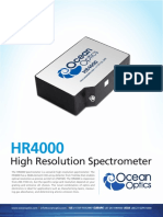 High Resolution Spectrometer HR4000
