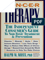 Cancer Therapy _ the Independent Consumer' - Moss, Ralph W