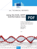 Using the EURL GMFF Online Bioinformatics Resources