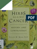 Herbs Against Cancer - Ralph W. Moss