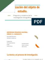 Categorización Del Objeto de Estudio.