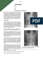 Internal Hernia a Case Report
