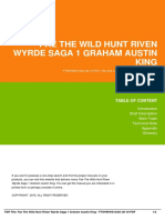 IDbeb6623ec-fae the wild hunt riven wyrde saga 1 graham austin king