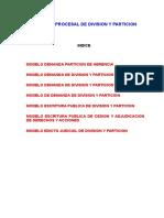 PRACTICA PROCESAL DE DIVISION Y PARTICION.doc