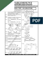 Ssc Mock Test- Solution -166 89