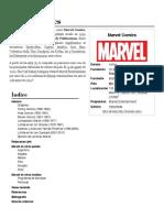 Marvel Comics - Wikipedia, La Enciclopedia Libre
