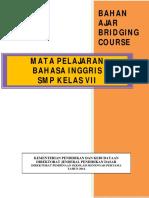 BAHASA INGGRIS KELAS VII Bridging Course.pdf