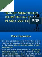 Transformaciones Isometricas en El Plano Cartesiano 8vo