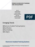 Emerging Trends in Employee Training and Development