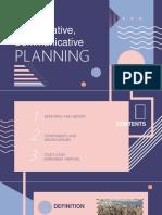 COMMUNICATIVE & COLLABORATIVE PLANNING [Autosaved].pptx