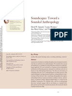 Soundscapes- Toward a Sounded Anthropology