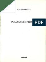 Popescu, Ioana - Foloasele Privirii Pp. 109-134