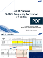Cell Id Planning