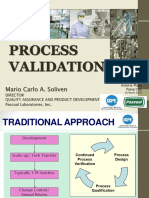 Training- Process Validation Handout