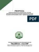 Proposal Sosialisasi Dan Edukasi