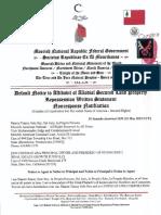 MACN-R000000146_Default Notice to Affidavit of Allodial Secured Land Property Repossession Written Statement - Nonresponse Notification