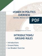 Women in Politics Overview