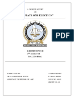 Constitutional law project one india one election.docx