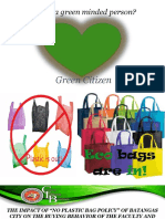 """Final-THE IMPACT OF """"NO PLASTIC BAG POLICY"""" OF BATANGAS CITY ON THE BUYING .pptx"""