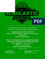 Scholastic Basketball Camp