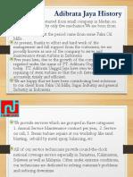 Company Profile PT. Adibrata Unggul Jaya