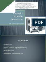 Unidad 1 Sistemas Operativos