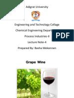 Wine Production L 4