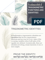 Trigonometric Functions, Identities, And Ratios