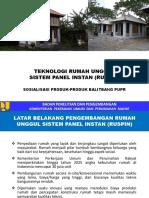 11 Ruspin Rumah Unggul Sistem Panel Instan