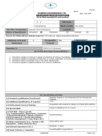Manpower Requisition Form -Engineer