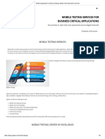Mobile Application Functional Testing _ Mobile Test Automation Services