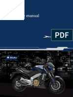 Dominar 400 Repair / Service Manual Translated. Not perfect but will work.