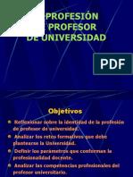 docencia por competencias Profesión Profesor Univ..ppt